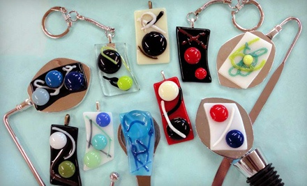 Twigs-N-Berries Glass-Pendant-Making Class (a $30 value) - Bella Glass Studios in Denver