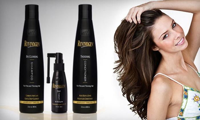 Revivogen Hair-Loss Treatment Kit: $29 for Revivogen Three-Piece Hair-Loss Treatment Kit ($81 Value)