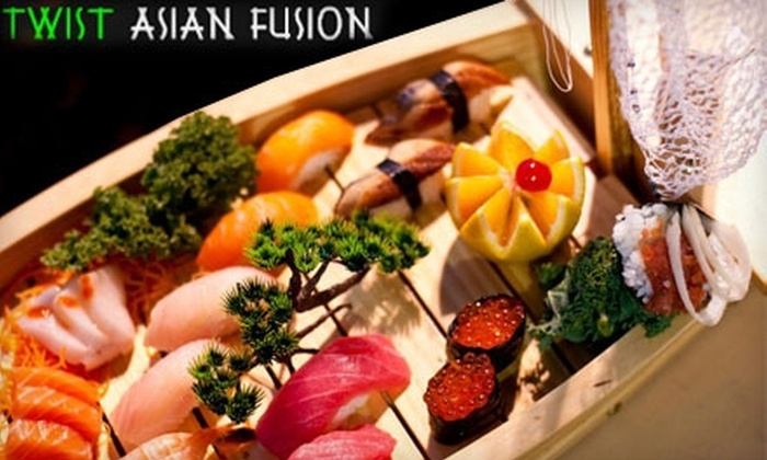 Twist Asian Fusion - South Orange: $15 for $30 Worth of Fare and Drinks at Twist Asian Fusion