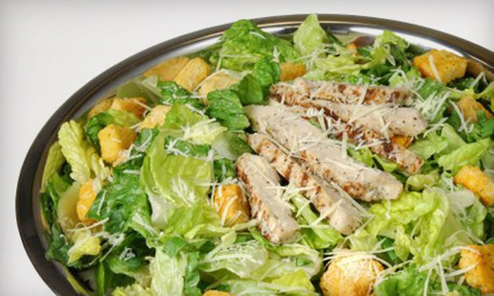 Salad Creations - Multiple Locations: $5 for $10 Worth of Fresh Salads, Sandwiches, and Healthful Fare at Salad Creations in Fredericksburg or Stafford