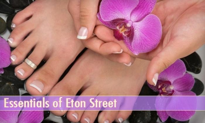 null - Birmingham: $30 for Mani-Pedi at Essentials of Eton Street Nail Studio ($60 Value) in Birmingham