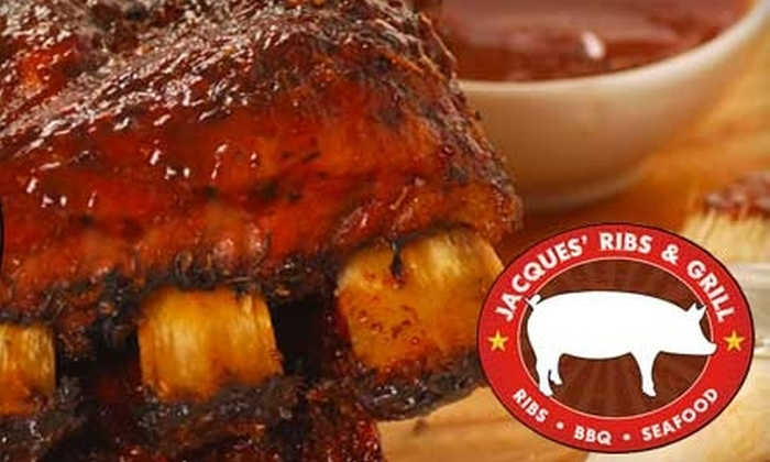 Jacques' Ribs & Grill - West Brighton: $15 for $30 Worth of Ribs and Barbecue at Jacques' Ribs & Grill on Staten Island