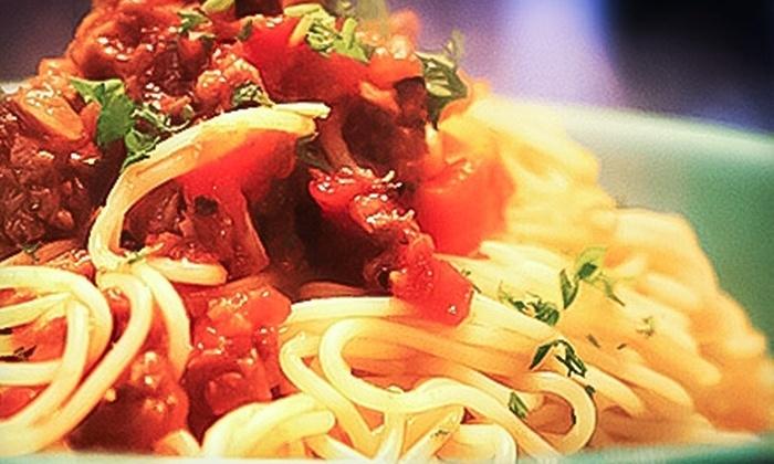 Brioso Fresh Pasta - Multiple Locations: $10 for $20 Worth of Italian Cuisine and Drinks at Brioso Fresh Pasta.