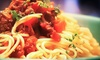 Brioso Fresh Pasta - Multiple Locations: $10 for $20 Worth of Italian Cuisine and Drinks at Brioso Fresh Pasta.