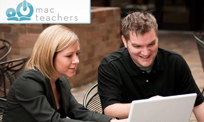 Mac Teachers - Washington DC: $35 for a 75-Minute On-Site Mac-Computer Training Session from Mac Teachers ($75 Value)