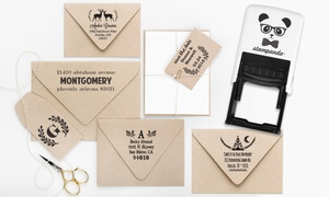 Stampanda: One or Two Personalized Self-Inking Stamps from Stampanda (Up to 54% Off). Shipping Included.