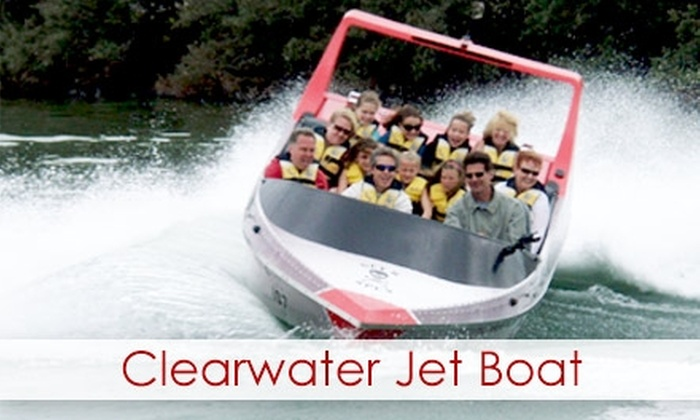 Clearwater Jet Boat Tour - Clearwater: $15 for One Ticket to a Clearwater Jet Boat Tour
