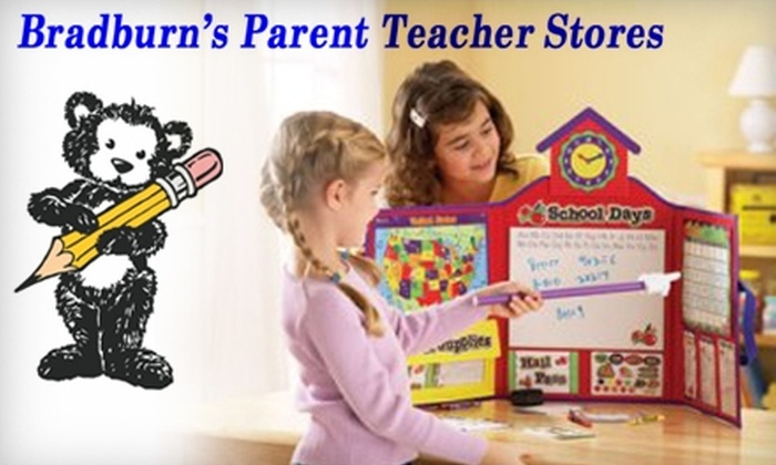 Bradburn's Parent Teacher Stores - Multiple Locations: $10 for $20 Worth of Educational Toys and Games at Bradburn's Parent Teacher Stores
