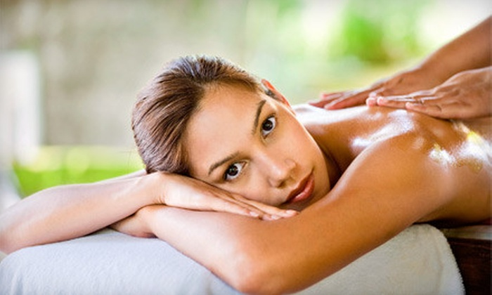 Sammi Gene Salon and Spa - West Side Manor: $79 for Spa Outing with a Mani-Pedi, Facial, and Hairstyle at Sammi Gene Salon and Spa in Middlebury (Up to $180 Value)