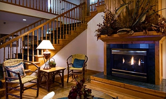 Garrison Inn & Suites and Ruttger's Bay Lake Lodge - Garrison: $138 for One Night of Lodging and Golf for Two at Garrison Inn & Suites ($262.54 Value)
