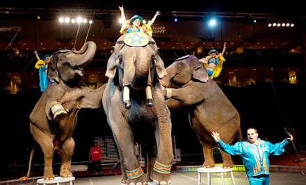 Al Amin Shrine Circus at American Bank Center Arena on Fri., Jan. 20 at 7:30PM: Reserved Seating Sections 114-116 - Al Amin Shrine Circus in Corpus Christi