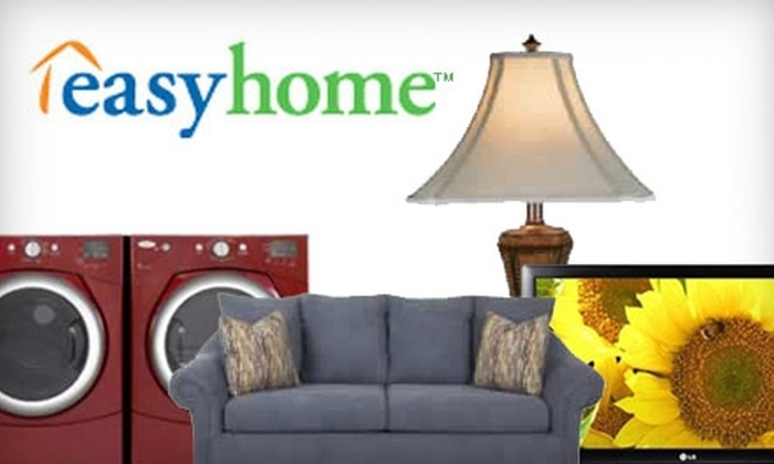 easyhome - South City: $5 for $100 Off the Total Cost of Any Item, Plus $1 Off Weekly Lease Rates, at easyhome
