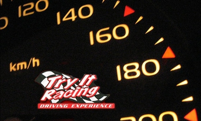 Stock Car Driving Experience Presents Try It Racing - Baltimore: $160 for an Extreme Driving Experience from Stock Car Driving Experience Presents Try It Racing ($300 Value)