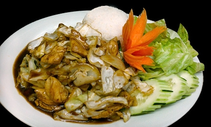Bangkok Garden - Concord: $10 for $20 Worth of Authentic Thai Dinner Cuisine at Bangkok Garden in Concord (or $5 for $10 Worth of Lunch)