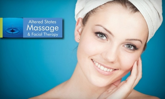 Altered States Massage & Facial Therapy - Moreland: $37 for a One-Hour Facelift Massage at Altered States Massage & Facial Therapy ($75 Value)