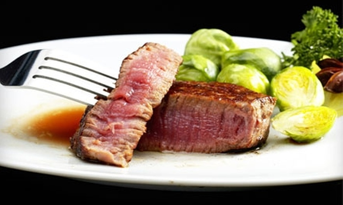 Isadore's - Manteca: $10 for $20 Worth Steak, Seafood, and More for Lunch at Isadore's (or $20 for $40 Worth of Dinner)