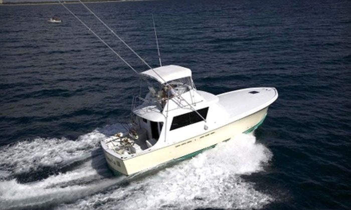 Lady Pamela II Sportfishing Charters - Barrier Island: $22 for a Four Hour Fishing Trip from Lady Pamela II Sportfishing Charters ($45 Value)