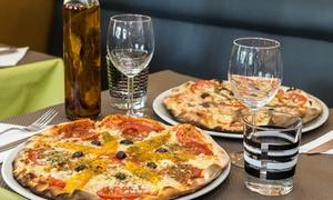 Jazz Café: Cocktail du jour, pizza et dessert au choix pour 2 personnes dès 29,90 € au restaurant Jazz Café
