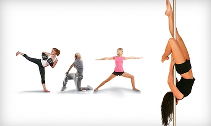 Knockout Bodies - Minneapolis: $35 for Five Pole-Dancing Classes, Zumba Classes, or Class of Your Choice at Knockout Bodies ($75 Value)