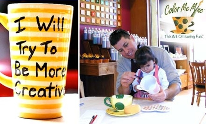 Color Me Mine - Briargate: $25 for $50 Worth of Customized Ceramic Creations at Color Me Mine