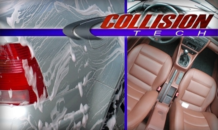 Collision Tech OKC - Oklahoma City: $49 for a Full Detailing Service at Collision Tech OKC
