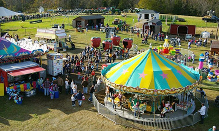 Heaven Hill Farm - Hillcrest: Pumpkin Land Festival Outing for Two at Heaven Hill Farm in Vernon, NJ