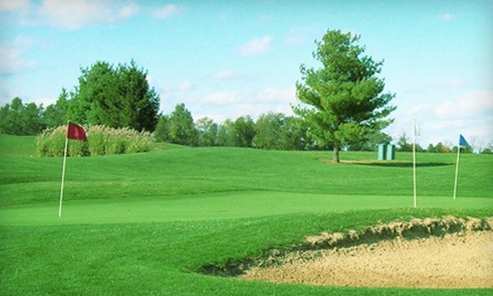 Man O' War Golf Learning Center - Lexington-Fayette: Private Golf Lesson or Range Balls at Man O' War Golf Learning Center (Up to 56% Off). Two Options Available.