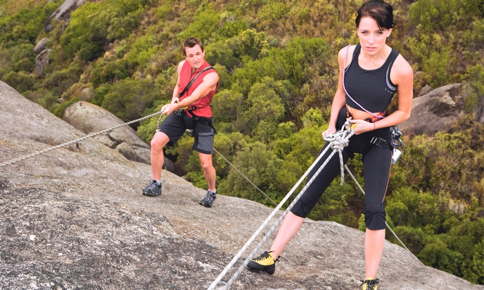 Adventure Out - Castle Rock State Park: $49 for a 4-Hour Rock-Climbing Lesson with Guided Climb and Gear from Adventure Out (Up to $99 Value)