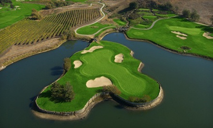 18-Hole Round of Golf with Cart Rental for Two or Four at Eagle Vines Vineyards and Golf Club (Up to 50% Off)