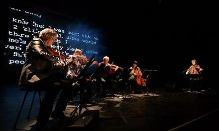 Laurie Anderson & Kronos Quartet Present