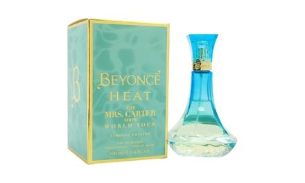 Beyoncé Heat The Mrs. Carter Show World Tour Eau de Parfum for Women (3.4 Fl. Oz.)