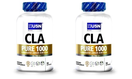 Buy 1 Get 1 Free: USN CLA Pure 1000 Weight-Loss Supplement (90 Count)