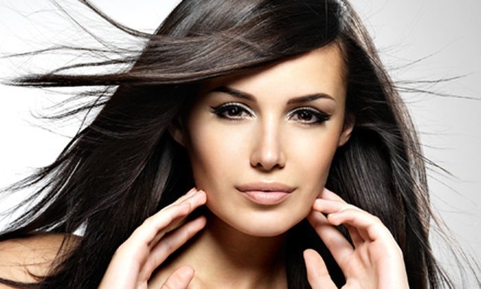 Downtown Cuts and Cuticles - Downtown Colorado Springs: Haircut with Deep Conditioning, All-Over Color, or Partial Highlights at Downtown Cuts and Cuticles (Up to 55% Off)
