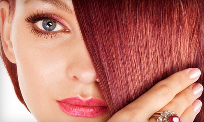 Scenario Hair Design - Downer Woods: Haircut, Deep Conditioning, and Blowout with Optional Partial or Full Highlights at Scenario Hair Design (Up to 64% Off)