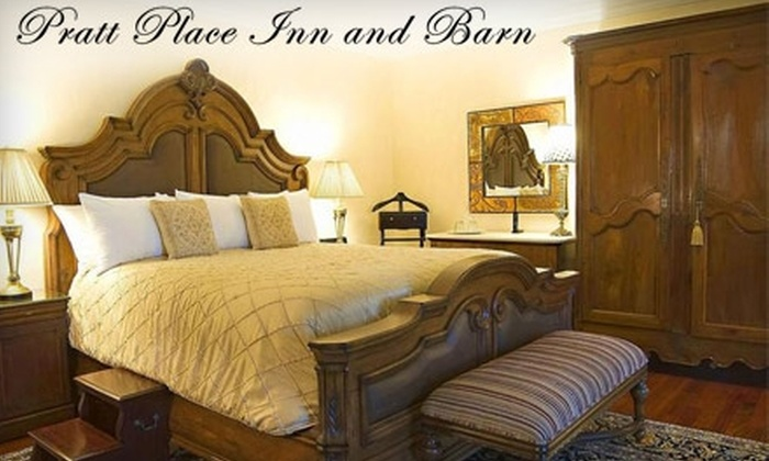 Pratt Place Inn and Barn - Fayetteville: One-Night Romantic Getaway at Pratt Place Inn and Barn (Up to $385 Value). Choose Between Two Room Options.