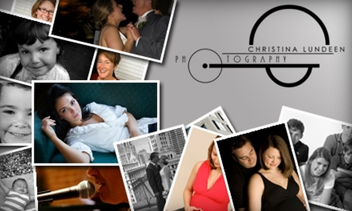 Christina Lundeen Photography - Kansas City: $45 Professional Photography Session Plus DVD Slideshow and Three Digitally Retouched Images from Christina Lundeen ($510 Value)