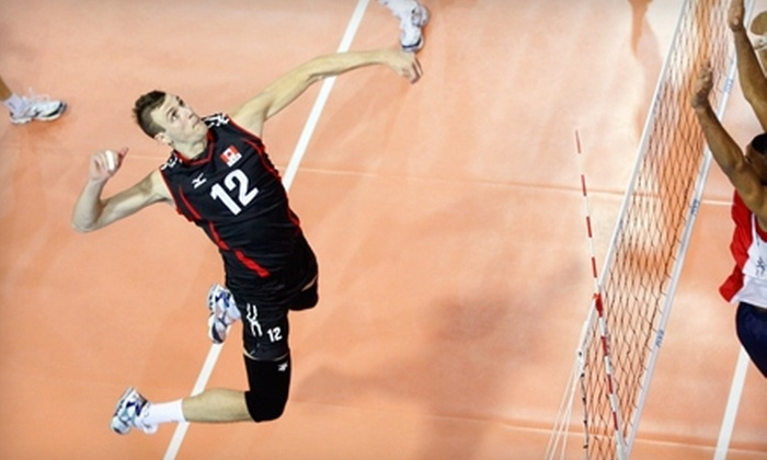 Volleyball World League Qualifier - Downtown Kingston: One Ticket to the Volleyball World League Qualifier in Kingston (Up to $25.10 Value). Choose Between Two Dates.