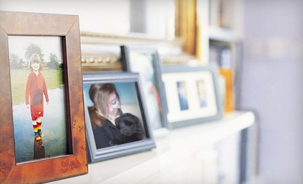 Custom Framing at Photograph & Frame (Up to 60% Off). Two Options Available.