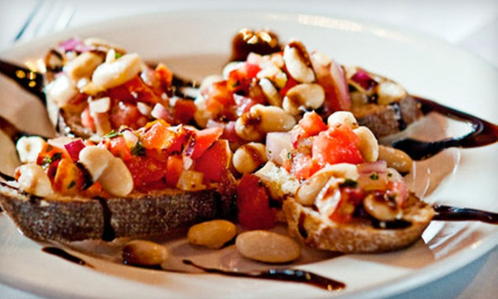 Portalli's - Ellicott City: $75 for a Four-Course Italian Dinner and Bottle of Wine for Two at Portalli's (Up to $151 Value)