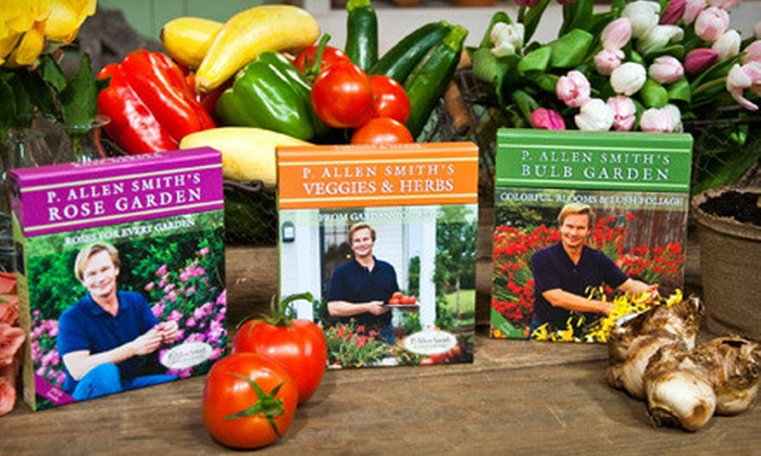 P. Allen Smith Garden Home Collections: $22 for Three DVD Sets from P. Allen Smith Garden Home Collections ($44.85 Value)