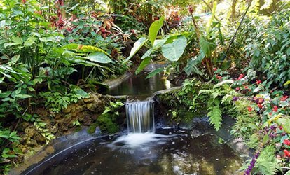 image for One Day at Sunken Gardens for Two, or One Annual Family Membership (Up to 64% Off)