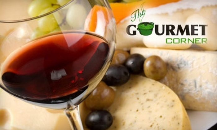 The Gourmet Corner - Nrth Central: $25 for $60 Worth of Imported Wine and Gourmet French Food Items at The Gourmet Corner in San Mateo
