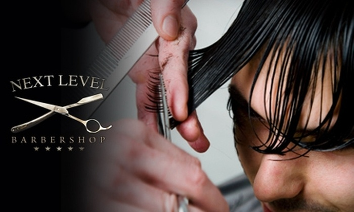 Next Level Barbershop - Downtown Miami: $26 for a Men's Haircut and a Hot-Towel Shave at Next Level Barbershop