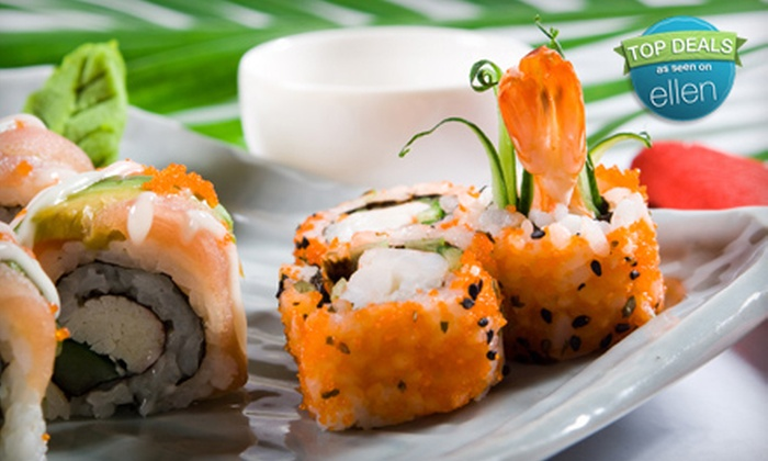 Bamboo Lounge, Ami Sushi, & T-Deli - Multiple Locations: $12 for $25 Worth of Brunch, Dinner, and Wine Plates at Bamboo Lounge, Sushi at Ami Sushi, or Deli Fare at T-Deli