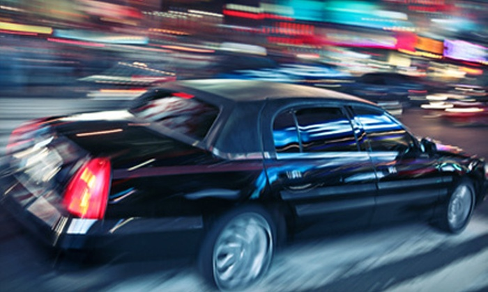 Denver Crown Limo - Denver: One-Way or Roundtrip Airport Service in Luxury Sedan from Denver Crown Limo (Up to 53% Off)