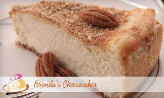 Brenda's Cheesecakes - Greenville: $20 for $40 Worth of Mama's Original Butter Pecan Cheesecake From Brenda's Cheesecakes