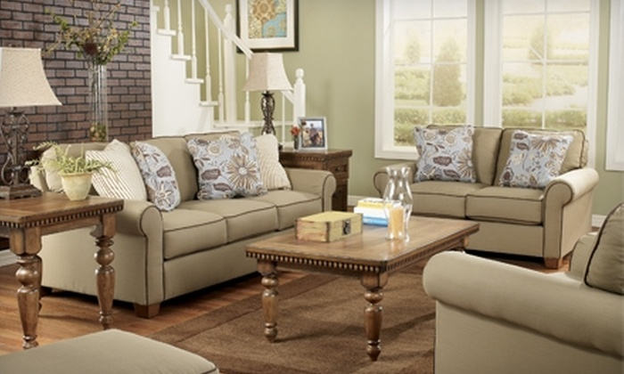 Ashley Furniture HomeStore - Springfield Commons: $50 for $100 Toward Home Furnishings at Ashley Furniture HomeStore in Springfield