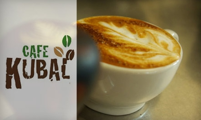 Cafe Kubal - Eastwood: $7 for $15 Worth of Brewed Coffee and Beans at Café Kubal