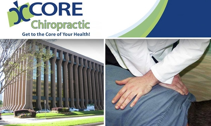 CORE Chiropractic - Great Uptown: $30 for Chiropractic Consultation, Exam, and Adjustment at CORE Chiropractic ($180 Value)