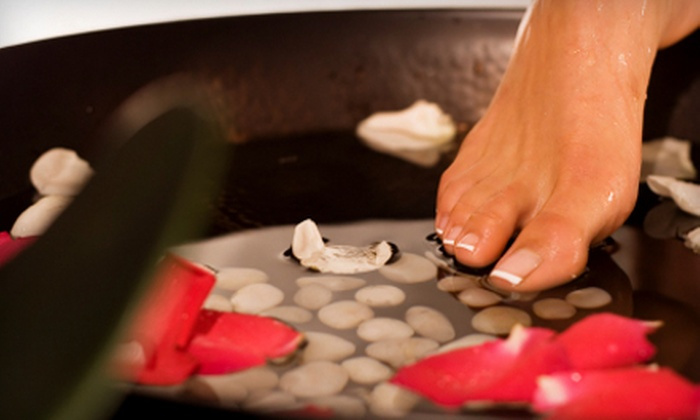 HairapyPDX Organic Salon - Multnomah,SW Portland: $30 for an Ionic Detoxifying Footbath Treatment at HairapyPDX Organic Salon ($70 Value)